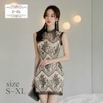 No.66 韓国ワンピース きれいめワンピース ドレス キャバドレス