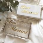 クラッチバッグ-just married-