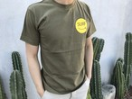 Smiley SURF Message Tシャツ(khaki)