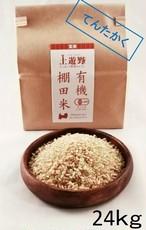 《令和2年産》有機棚田米てんたかく 玄米 24㎏