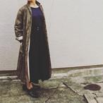 YAECA WRITE WOMEN ラペルコート MONO GATSBY(dark brown) #98553