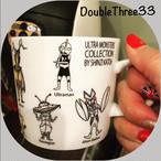 【即納】マグカップ ウルトラマン モンスターズ コレクション オールスター コップ z-049