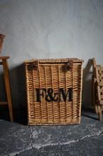 イギリス フォートナム&メイソン バスケットトランク