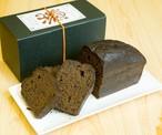 村のほうじ茶を贅沢に練りこんだ 黒焙じ茶のパウンドケーキ