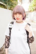 【平行とヨーヨーリクリエーション】くまめヨーヨーポケットTシャツ