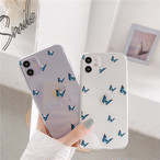 Cute Butterfly Painting iphone case