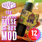 WRAPS! for VANDYVAPE PULSE BF BOX MOD / バンディーベープパルスBF