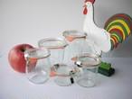 「智子様専用」 ヴィンテージ WECK ガラス保存瓶キャニスター 5P  メイソンジャー
