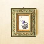 ミニ額縁 原画【 やさしい時間 】mini frame ver.