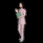 看護師04(中年女性)