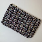 1点のみ  chanel tweed pouch pink