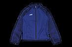 Camo Sleeve Full Zip Jersey Top(MHJT-005 NVY)