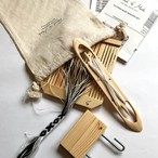 <Found & Made> Band Weaving Kit - Double Slot Heddle 7pattern / バンド織りキット 7本パターン