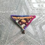◆Kiyo.◆ Vintege Embroidery Brooch / tinkle of a bell