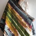Mula:working cloth セレクトファブリック 「プリント作業台の布」 Earth