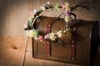 【花のプレゼント】プリザーブドフラワー/アーティフィシャルフラワー-花かんむり-
