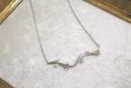 アコヤパールの枝ネックレス2(silver色)