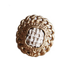 【VINTAGE CHANEL BUTTON】チェーン ココマーク ボタン