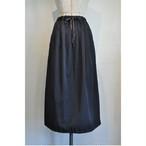 【RehersalL】twill long skirt (black)/【リハーズオール】ツイルロングスカート(ブラック)