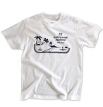 "HAPPY HOUR RECORDS T-shirt ""WHITE"""