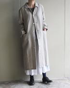 SARAXJIJI サラジジ Linen long coat リネンロングコート