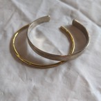 【 jomathwich 】silver✕brass bangle / B-44 シルバー✕真鍮  バングル