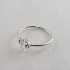 ハーキマー水晶の指輪
