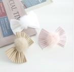 【Coco Chien】Rib fur ribbon