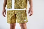 【6/3(wed)21:00販売開始】ThreeArrows Leopard SHORTS (yellow)