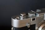真鍮のレリーズボタン S シルバー