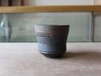 B275 植木鉢 Black&Gold (M)
