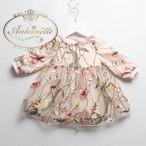 刺繍 赤ちゃん ワンピース かわいい 総刺繍 春 春服 ベビー服 ベビー ベビーファッション 海外デザイン
