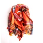 THE INOUE BROTHERS/Multi Coloured Scarf/Orange