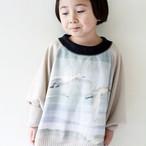 SALE 50% OFF!!!【KIDS】Swan knit ベージュ  sizeS(90-100)