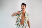 【7/1(wed)21:00販売開始】ThreeArrows Print SHIRT(aloha)