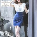 No.166 キャバドレス 韓国ドレス 韓国ワンピース