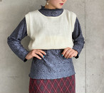 (PAL) design knit vest