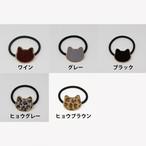 猫ヘアゴム(ねこ顔)