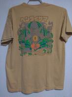 卍ヘンタイサマ卍 Tシャツ 6.1オンス Garment Dyed イエロー 内側プリント有 ヘンタイワークス