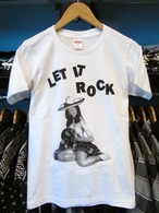 S / S Tシャツ LET IT ROCK ソンブレロガール