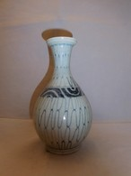 初期伊万里染付網手文徳利 Imari colored porcelain