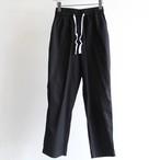H.UNIT【 mens 】cotton linen kersey easy pants