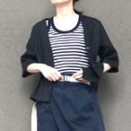 unscrum リネンシャツ(SH001-1A-blk)