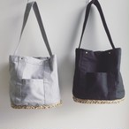 SEAGRASS × COTTON バケツ型BAG