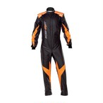 KK01729C179 KS-2 ART SUIT Children Black/orange