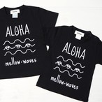 ★Kids★ ALOHA mellow waves Tee