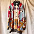 vintage shirt /レトロブラウス『ワケアリ舞踏会』