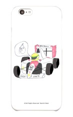 【1点もの】スマホケース「ゆらセンパイ F1レーサー」