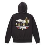 【限定受注販売 11/7(木)20:00-】 Bull. オーナー用オリジナルパーカー 「TOP BUHI」チャコールグレー