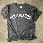 HULAMINGOS  COLLAGE LOGO T-SHIRT GLAY